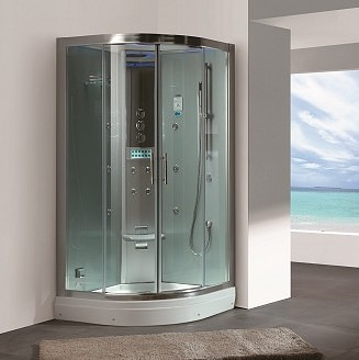 small steam shower
