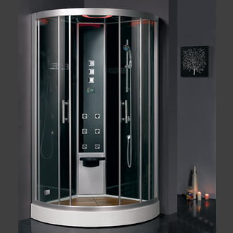 1 person corner steam shower