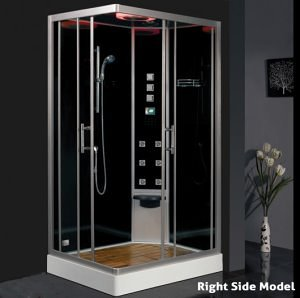free standing steam shower
