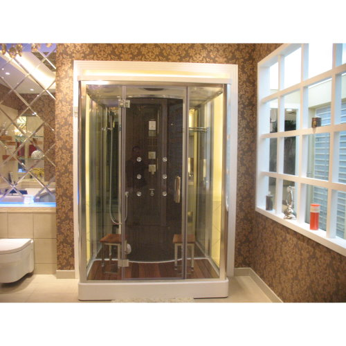 "DZ956F8 Steam Shower 59.1""x35.4""x87"" 