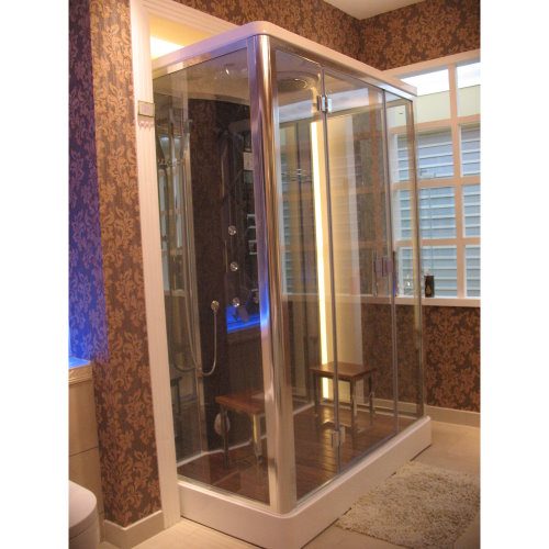dz956f8 steam shower 59 1 x35 4 x87 perfect bath canada. Black Bedroom Furniture Sets. Home Design Ideas