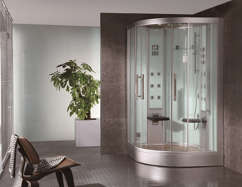 dz962f8 2 person steam shower perfect. Black Bedroom Furniture Sets. Home Design Ideas