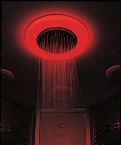 color chroma therapy lights for steam shower