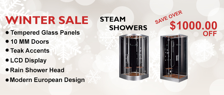 Discount Steam Shower Sale