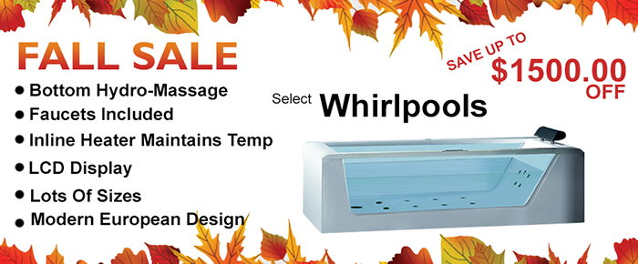 fall whirlpool Bathtubs Sale