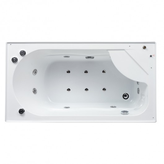 steam shower/ whirlpool bathtub da328f3-1 | perfect bath canada