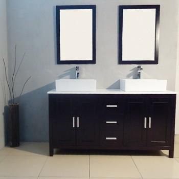 60 double vanity