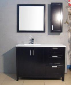 quality wood vanity