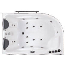 Ariel Platinum 2 person jetted bath