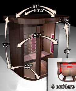 fancy infrared sauna