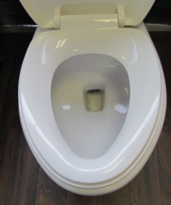 Elongated toilet seat