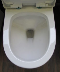 Round elongated Toilet bowl
