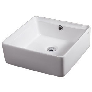 Top Mount Ceramic Vessel Sink Basin
