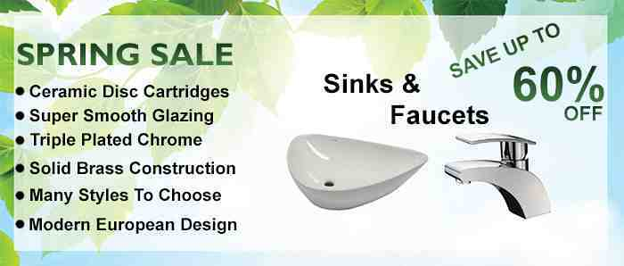 Facuets, Sinks and Bathroom Fixture Sale