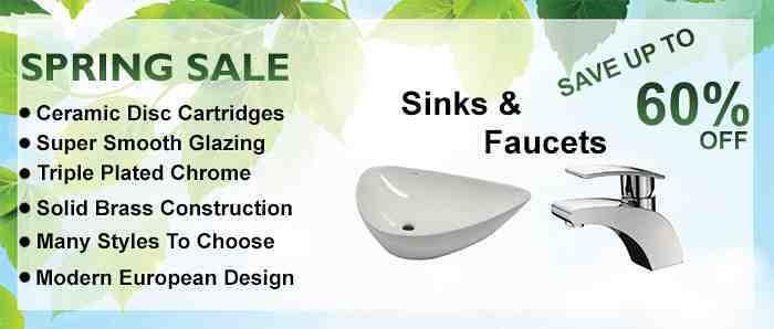Facuets, Sinks and Bathroom Fixture Sale