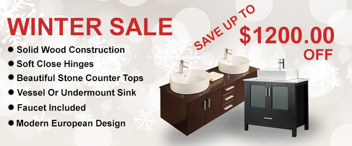 Discount Bathroom Vanities Sale