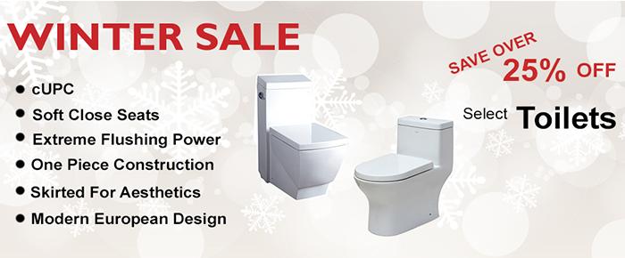 discount toilets and bathroom fixtures sale