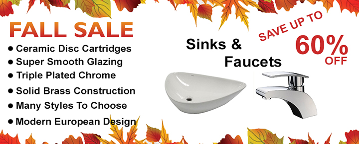 Sinks and faucets Sale