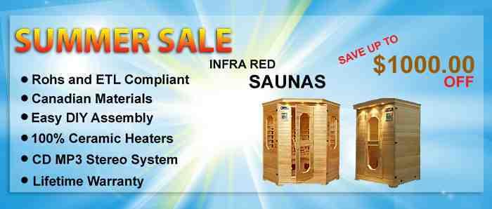 Sauna Sale