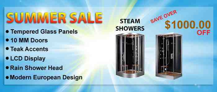 Steam Shower Sale