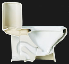 Ocean Falls Toilets and Bathroom Fixtures Sale