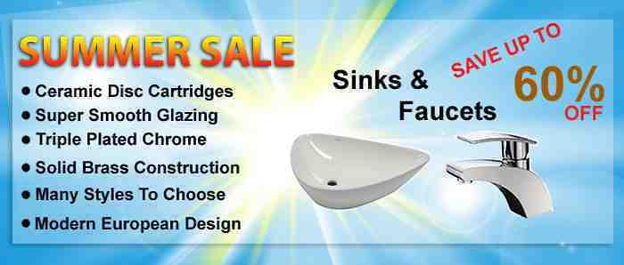 Bathroom Fixture Sale Sinks and Faucets