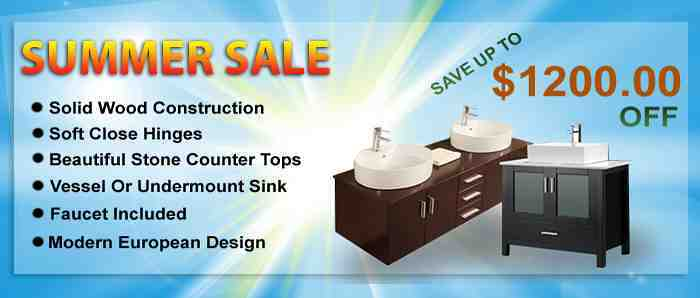 Bathroom Vanity Sale