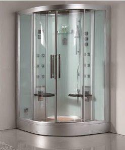 ariel platinum two person corner steam shower