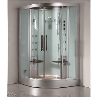 DZ962F8-white-corner-2person-steam-shower-5