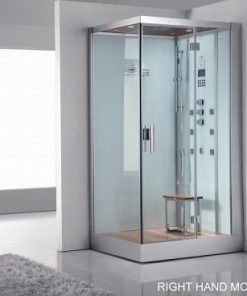 White EAGO Steam shower for 1 person