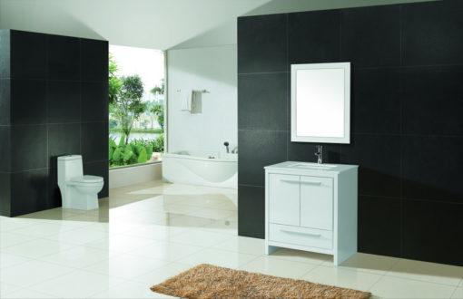 White Vanity Cabinet