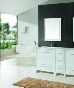 Large White Vanity
