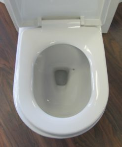 high flow dual flush toilet