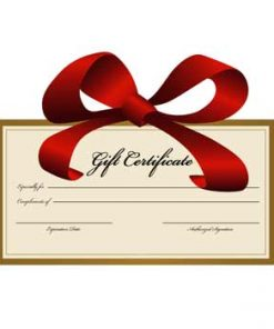 Bathroom Fixtures Gift Certificate
