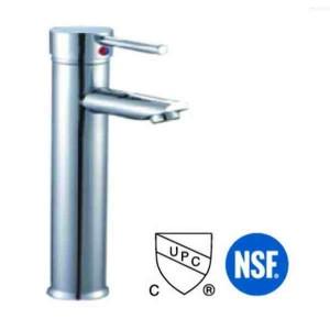 Round Chrome Faucet