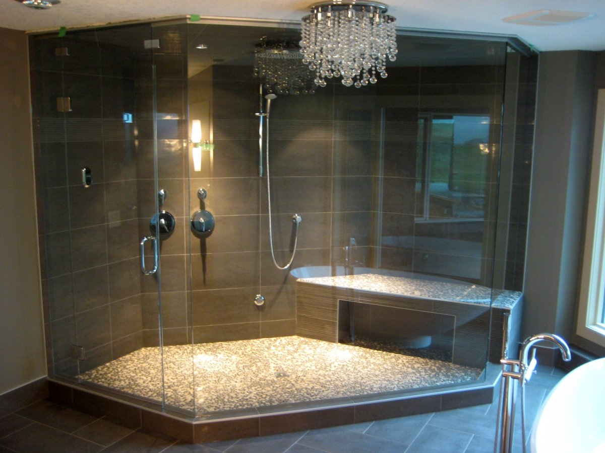 Shower Room Ideas Custom Steam Shower Or Modular Freestanding Steam Shower