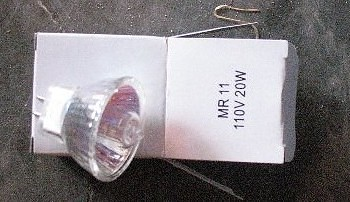 12V MR11 Sauna Light Bulb