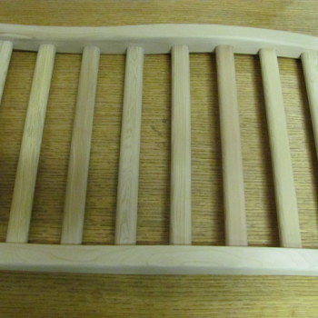 Wooden Lumbar Backrest for Sauna