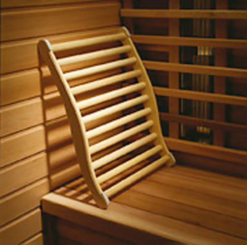 Moveable Lumbar Backrest For Sauna Perfect Bath Canada
