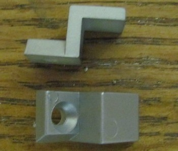 glass wall fastening clips