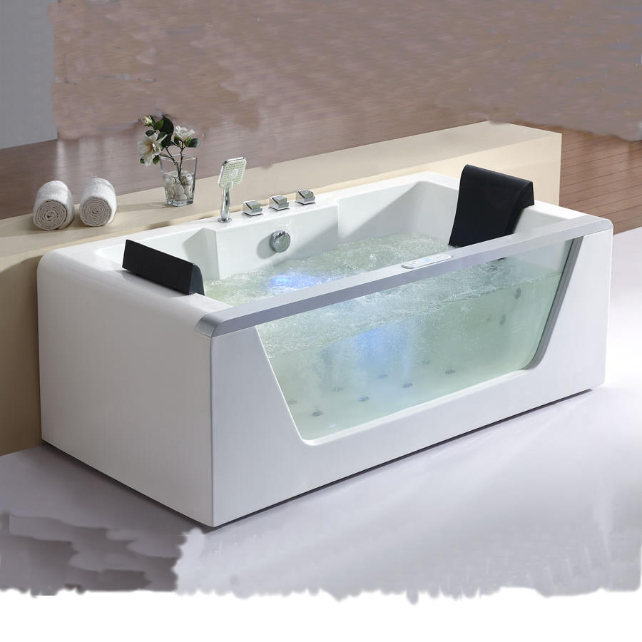 Whirlpool Bathtub for Two People – AM196 | Perfect Bath Canada