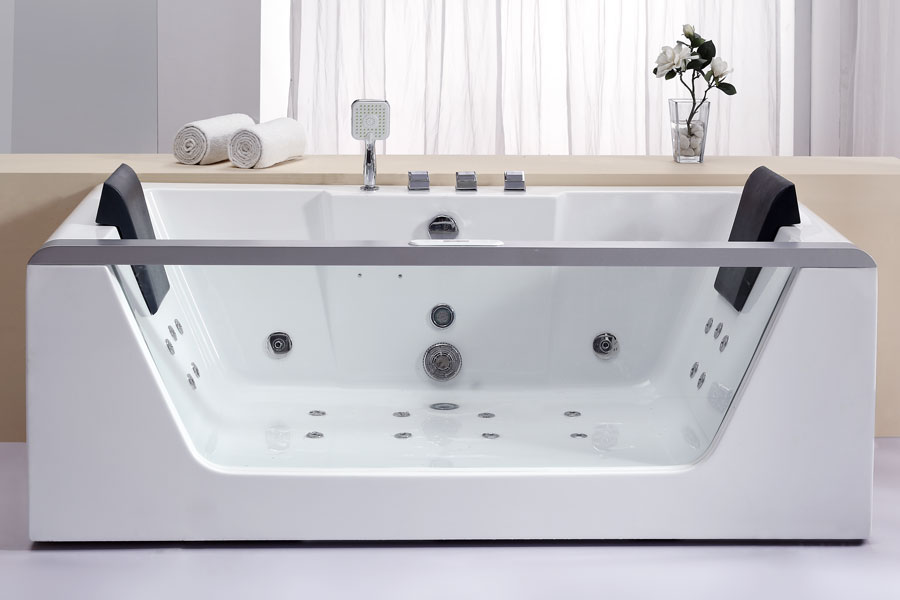Whirlpool Bathtub For Two People Am196 Perfect Bath Canada