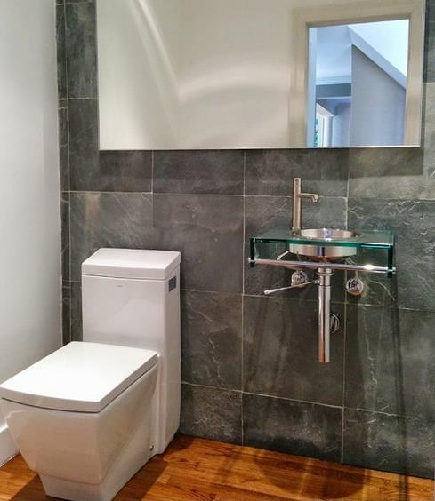 TB336 Toilet installed