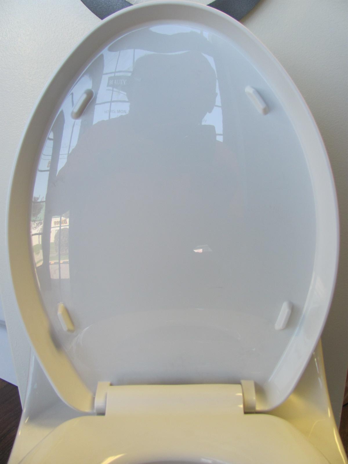Toilet seat for Eago TB133 toilet