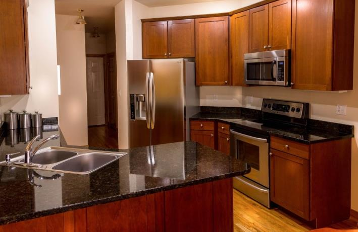 granite countertops for kitchens and bathrooms