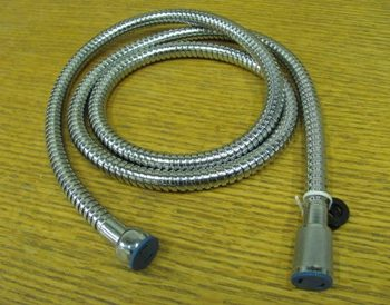 Hose for hand shower wand