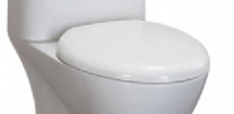 Toilet seat for EAGO TB346 Toilet