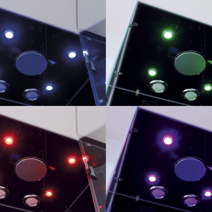 lights for steam shower