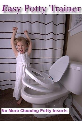 Easy Potty Training Toilet Seat For Children And Adults