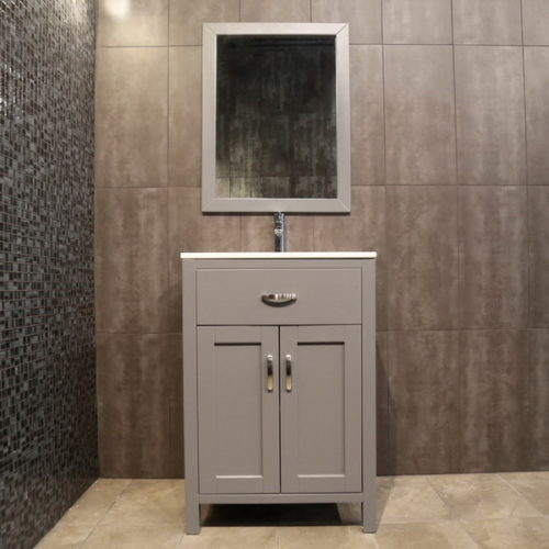 small grey vanity AG24c